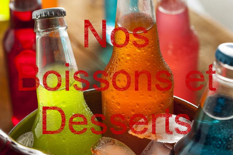Les boissons et les desserts